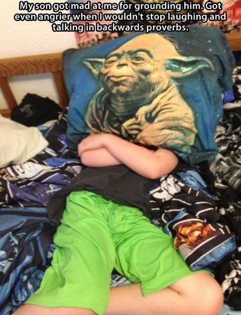 grounded,star wars,parenting,yoda