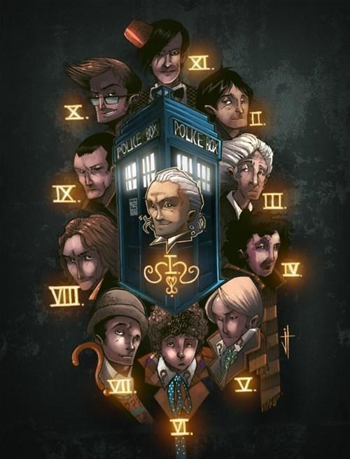 classic who Fan Art doctor who - 7891063296