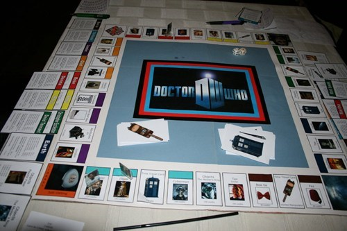 monopoly board games doctor who - 7891065600