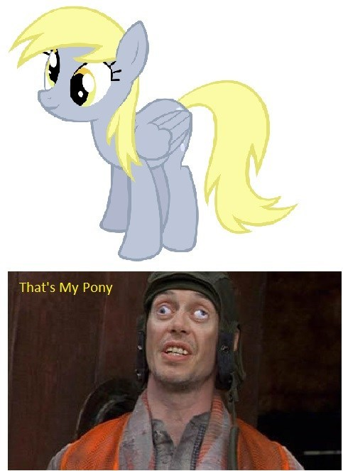 crazy eyes,derpy hooves,steve buscemi