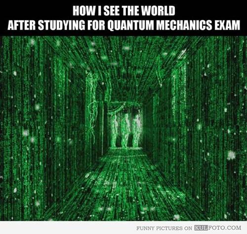 quantum mechanics science funny - 7891408896