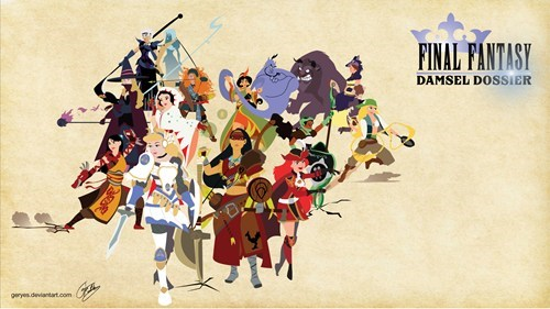 disney,final fantasy,Fan Art