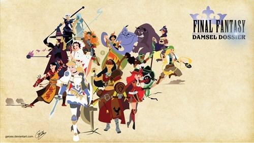 disney final fantasy Fan Art - 7891444480