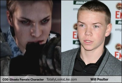 will poulter,Cod Ghosts,Videogames,totally looks like,funny