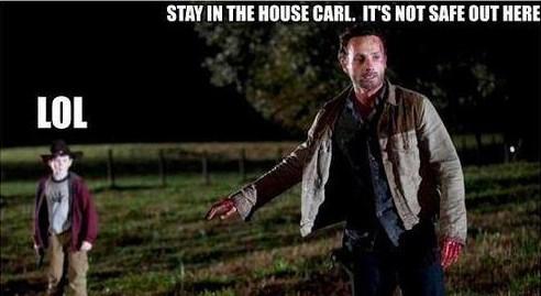 carl grimes Rick Grimes wheres carl - 7892274432