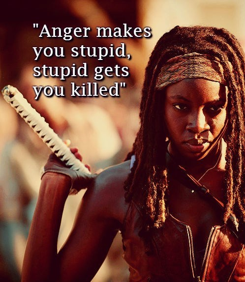 advice michonne yoda The Walking Dead - 7892298752