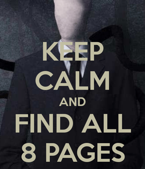 slender man video games slender keep calm - 7892372992