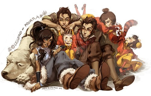 Fan Art Avatar korra cartoons - 7892393984