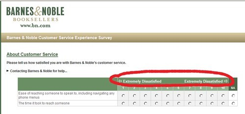 customer service,survey,there I fixed it