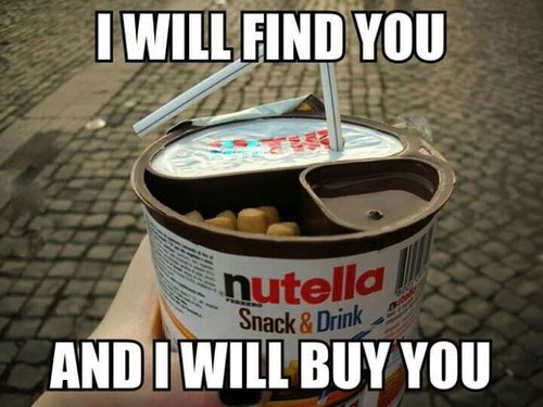 food nutella snacks - 7892462592