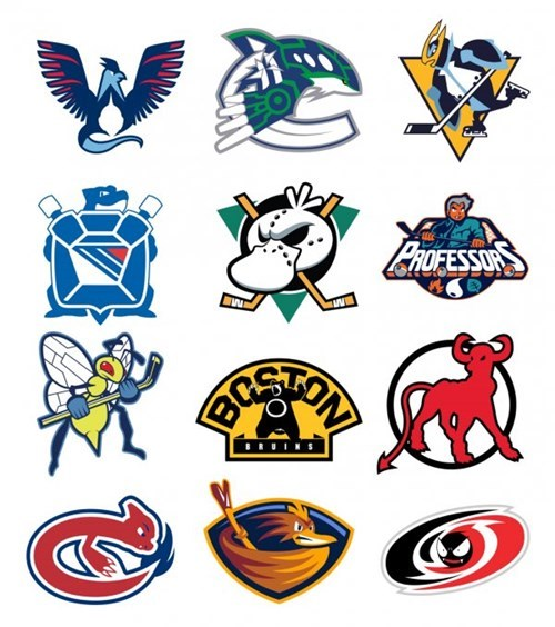 Hockey Logos Crossed With Pokémon