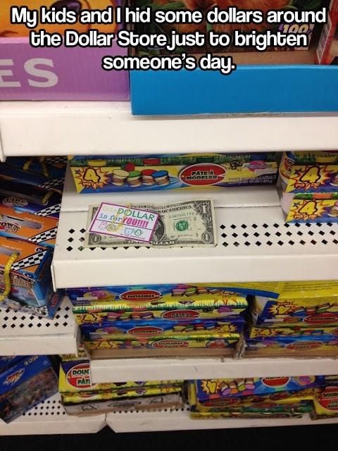 dollar store money Random Acts Of Kindness - 7892488704