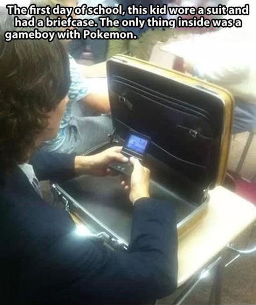 The Perfect Way to Play Pokémon at School