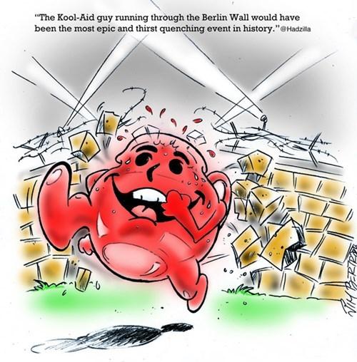 berlin wall history funny kool aid web comics - 7892528896