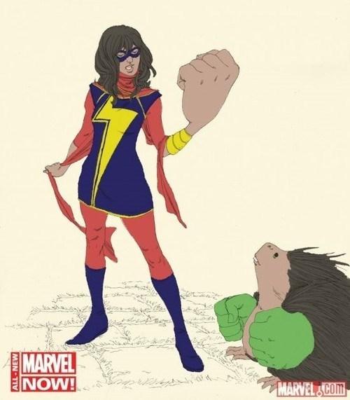 marvel muslim miss marvel new comic - 7892535552