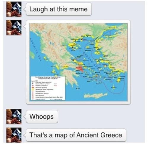 Memes ancient greece Maps failbook - 7892550656