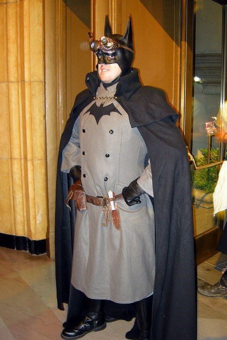 cosplay Steampunk batman - 7892638208