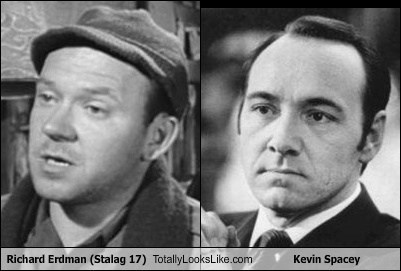 Richard Erdman (Stalag 17) Totally Looks Like Kevin Spacey