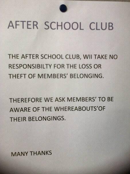funny idiots spelling school sign wtf - 7894004224