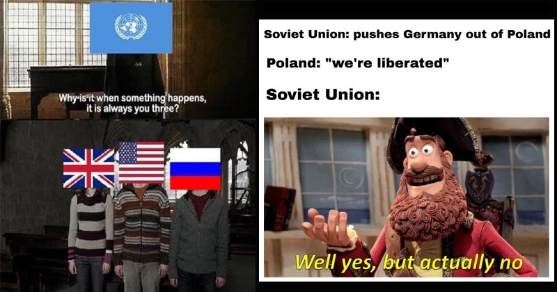 history memes funny memes world war II soviet union world war i SpongeBob SquarePants united kingdom hitler ancient history - 7894021