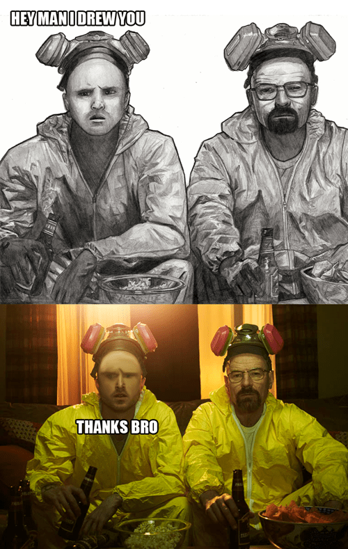 breaking bad derp drawings