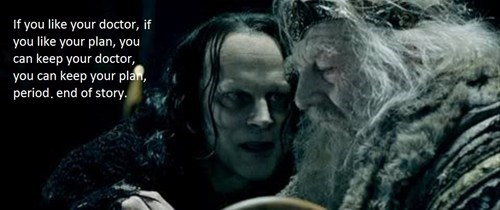 obamacare Lord of the Rings lies - 7894733312