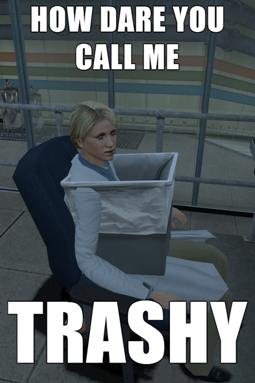 black mesa funny trash cans - 7894828800