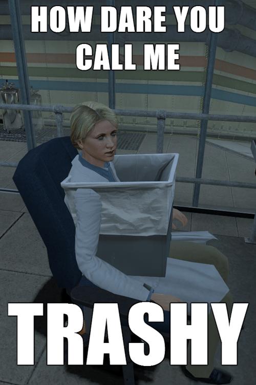 black mesa funny trash cans - 7894828800