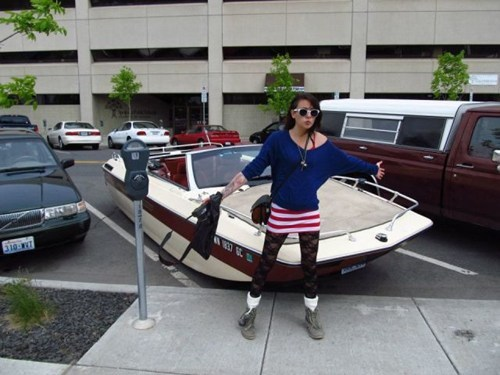 wtf,funny,parking,boats