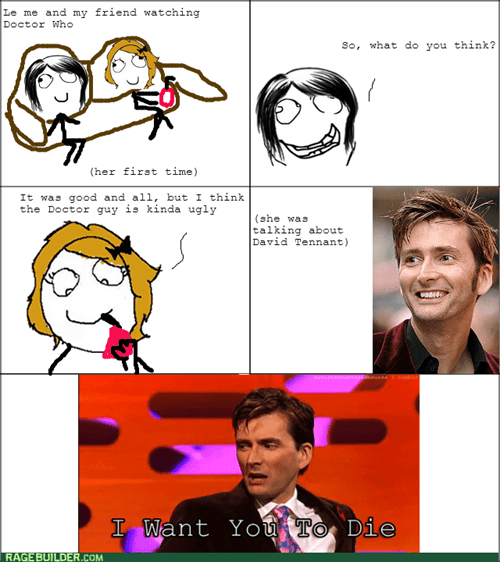 10th doctor,doctor who,Rage Comics