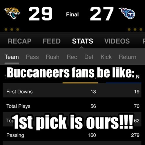 Buccaneers fans be like: