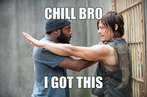 daryl dixon The Walking Dead tyreese - 7895316224
