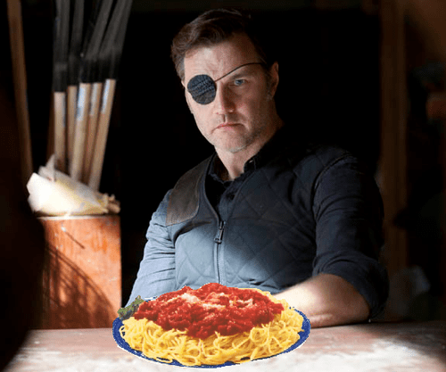 the governor,The Walking Dead,spaghetti