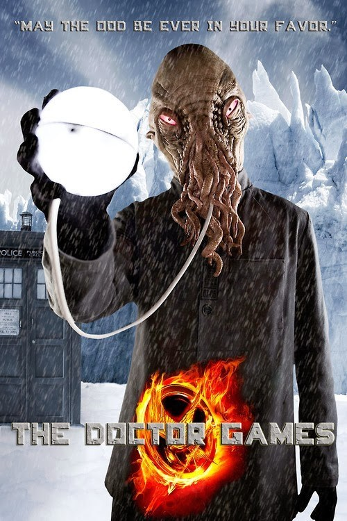 crossover doctor who hunger games - 7895734016