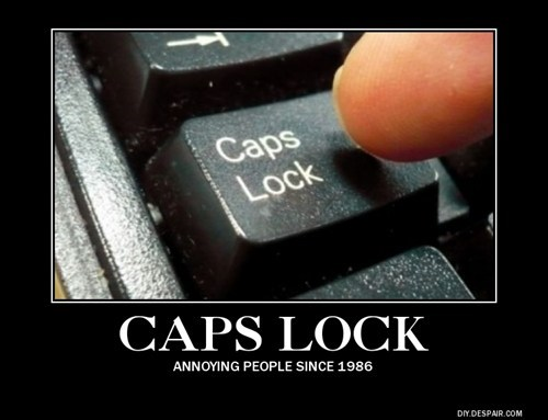 awesome caps lock funny internet - 7896066560