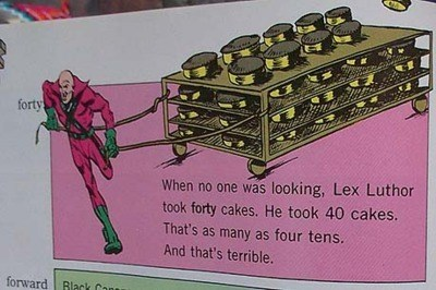 math parenting lex luthor textbooks story problems - 7896313600