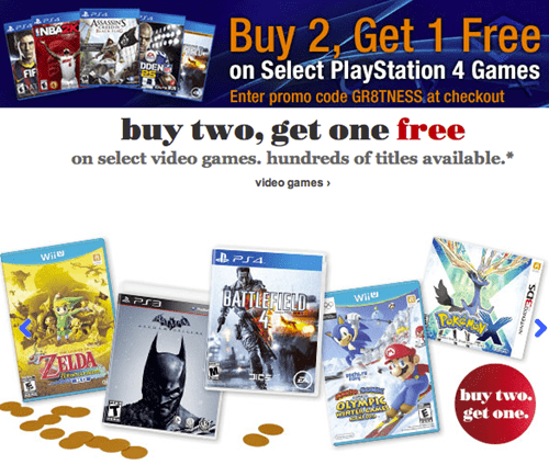 amazon,PlayStation 4,Target,sales,Video Game Coverage