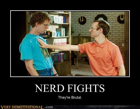 wtf nerds fight funny - 7896432128