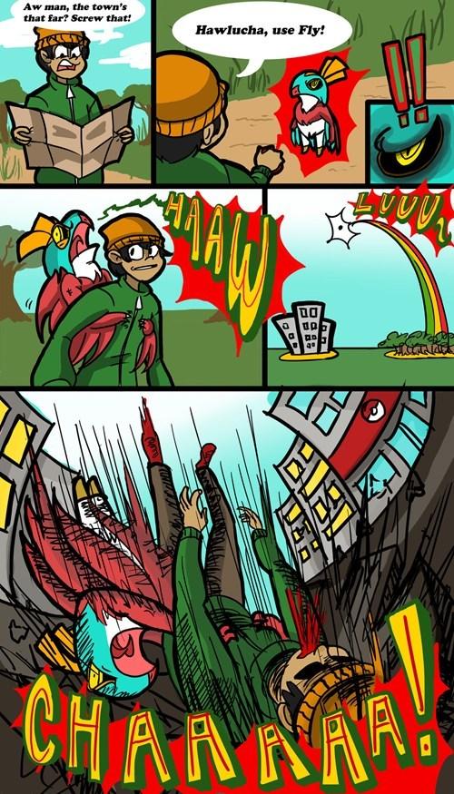 hawlucha web comics - 7896472320