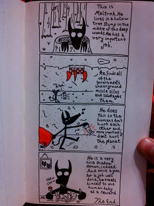 Babies,demons,funny,yikes,web comics