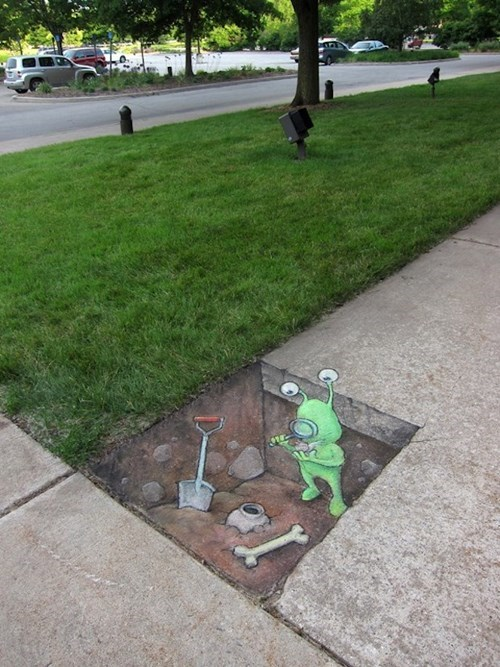 Street Art hacked irl funny - 7896562176