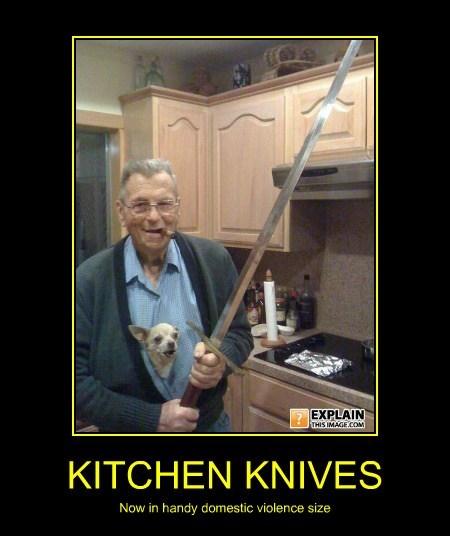 creepy funny old man sword - 7896612608