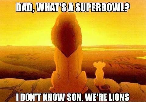 detroit lions Memes nfl sports the lion king - 7896680448