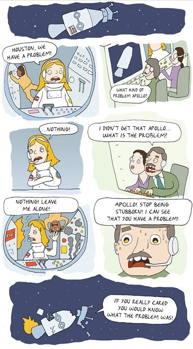astronauts relationships pay attention web comics