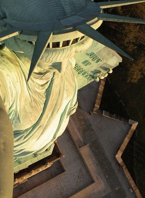 Statue of Liberty,selfie