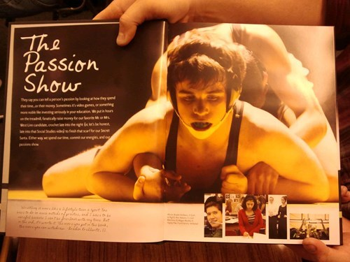 eww,passion,wrestling,wtf,yearbook