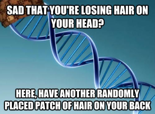 DNA hair scumbag - 7896801024