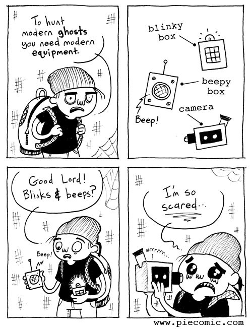 hunting,funny,ghosts,web comics