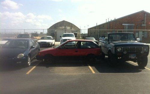 cars driving douchebag parkers funny - 7896832000