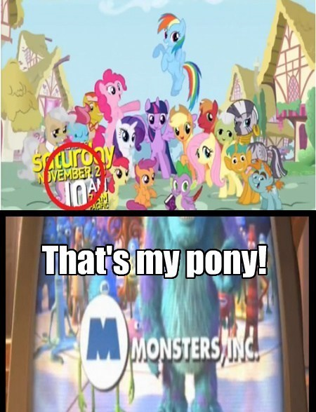 Look! Sweetie Belle was in the commercial!